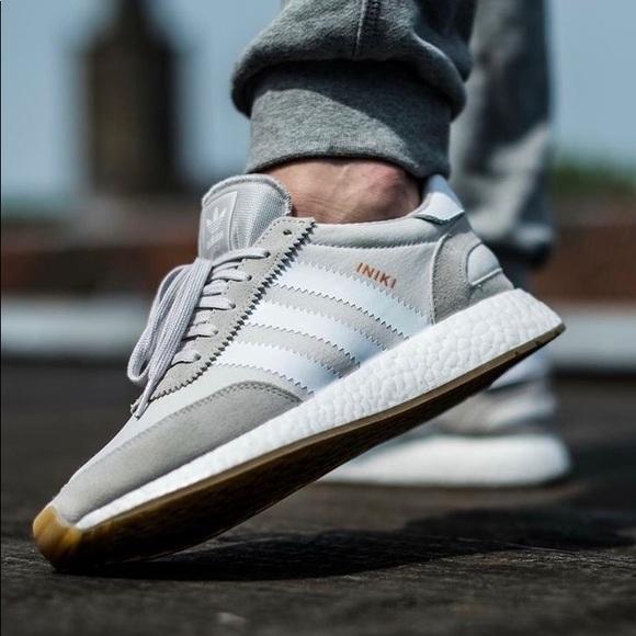 Adidas Iniki Runner - White Grey Silver c3a6bace8